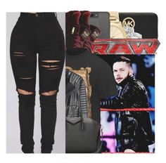 """""""FINN BALOR"""" by w-on-der-lan-d ❤ liked on Polyvore featuring MICHAEL Michael Kors, Allurez, Michael Kors, TNA, Puma, H&M, Givenchy, contest, rippedjeans and WWE"""