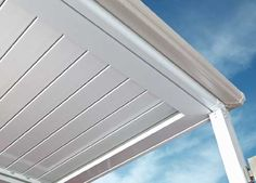 Stratco Verandah Sunroof With The Louvres Closed