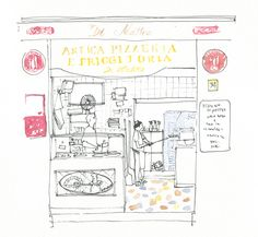 GattoBravo, an illustrated food blog. Lovely idea.    via Protein