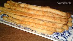 Potápačské slané tyčinky s parmezánom (fotorecept)