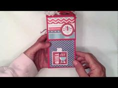 Red, White, and Blue Vertical TP Mini Album - YouTube
