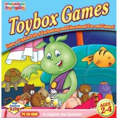 #Toddler's Toybox: #Toybox Games