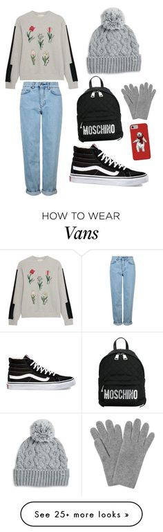"""""""Elin Fashion Style"""" by elinukul on Polyvore featuring Steve J & Yoni P, Topshop, Vans, Rella, Moschino and L.K.Bennett"""