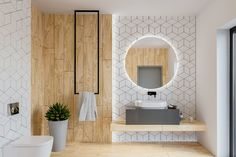 Inspiring Bathroom Sink Ideas to Add Style and Color to Your Bathroom - The Trending House Baths Interior, Modern Bathrooms Interior, Modern Bathroom Design, Bathroom Interior Design, Wet Room Bathroom, Diy Bathroom Decor, Bathroom Design Inspiration, Bad Inspiration, Bathroom Trends