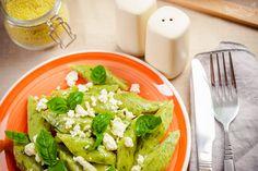 Szpinakowo–bazyliowe kopytka bez glutenu