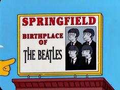 Springfield cuna de los Beatles
