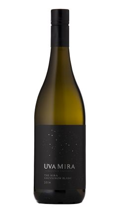 Uva Mira The Mira Sauvignon Blanc 2014 Design firm: The Blacksmiths #wine #packaging #SouthAfrica