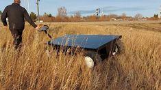 38023 Electric All-Terrain Pallet Truck - Demo Tall Grass Electric Utility, Electric Truck, Pug, Pallet, Grass, Platform, Trucks, Shed Base, Palette