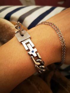 Key Pendant, Silver Pendant Necklace, Sterling Silver Pendants, Key Jewelry, Jewelry Necklaces, Matching Couple Bracelets, Bracelets For Boyfriend, Key Bracelet, Jewelry Cleaning Cloth