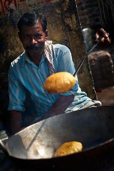 Street Food . Delhi