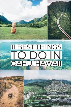 Best Things to do in Oahu (You Probably Haven't Heard of) - Avenly Lane Travel BEST THINGS TO DO IN OAHU! Although Oahu has many popular tourist attractions, there is a lot more to see on the island than just Waikiki Beach and the other typic Hawaii Vacation Tips, Best Island Vacation, Hawaii Honeymoon, Hawaii Travel, Spain Travel, Croatia Travel, Beach Travel, Usa Travel, Mexico Travel