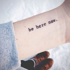 "Apenas ""now"". Letra do papai.♡"