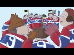 ▶ Le chandail - YouTube - Classic French Canadian Hockey Story that all students should learn about. Great for teaching about Culture and of course hockey history!