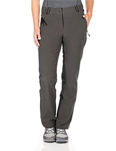 Angebote für Jack Wolfskin Damen Activate Thermic Pants Women Softshell-Hose Olive Brown 80 Billig