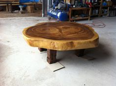 Items similar to Live Edge Coffee Table Reclaimed Acacia Wood Solid Slab (Natural Shape)(Custom Made) on Etsy Custom Made Furniture, Log Furniture, Big Living Rooms, Cool Tables, Live Edge Table, Coffe Table, Wood Tree, Wood Slab, Center Table