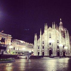 Piazza del Duomo nel Milano, Lombardia