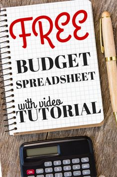 FREE Budget Spreadsheet With Video Tutorial - Get the Spreadsheet WE USE along with a video on how to best use it!