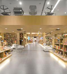 Книжный магазин Aiva от Studio Arthur Casas d Рио-де-Жанейро – Бразилия