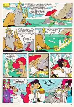 Walt Disney Movie Comics - The Little Mermaid - walt-disney-characters Photo