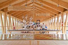 """Herzog & de Meuron presents an alternative to """"pompous and unsustainable"""" Expo pavilions"""
