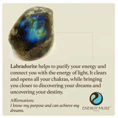 Labradorite by Energy Muse