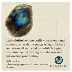 Labradorite by Energy Muse