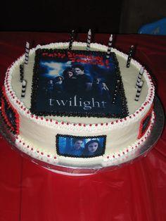 twilight cakes   Twilight Birthday Cake
