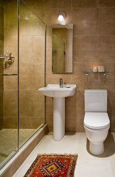 3 Unique, Small Bathrooms