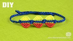 DIY Easy Triple Wavy Leaf Bracelet #DIY #Easy #Bracelet