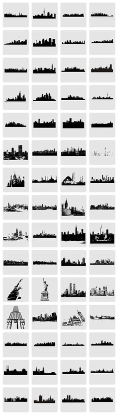 HOT FREEBIE – Vector City Skylines and Monuments