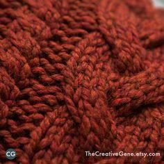 Braid y torcedura 16x16 Mano Knit cable Almohada Por TheCreativeGene
