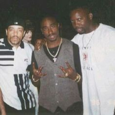 Tupac Shakur and Ice T
