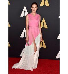 Celebrity Red Carpet Fashion | Fashion | Savoir Flair - Michelle  Monaghan wearing a J. Mendel