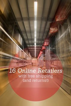 These 16 online retailers offering free shipping and free returns! They make online shopping hassle free.