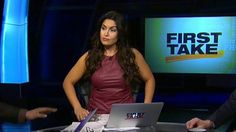 Molly Qerim: my new favorite ESPN Host 😬