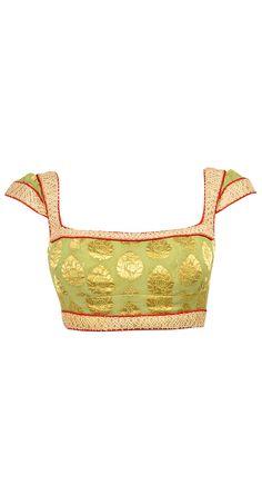 Gorgeous Tarun Tahiliani http://www.taruntahiliani.com/index.html Open Back Choli Blouse, for Saree or Lehenga / Ghagra