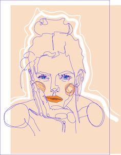 Illustration Frau Julia Feller Ästhetische Erziehung