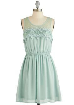Peach Julep Dress in Mint. Celebrate an overdue night out with your best pals by proposing a toast in this mint dress! #mint #modcloth