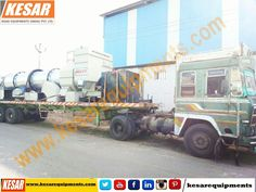 Asphalt Drum Mix Type Hot Mix Plant DM-45 Dispatched At Nepal