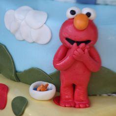 Elmo Cake Charm