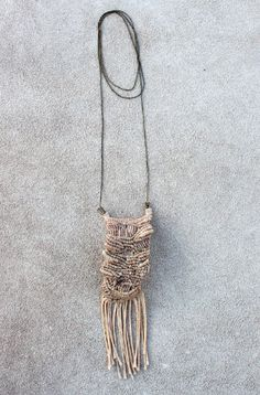 Macrame Necklace by siamic