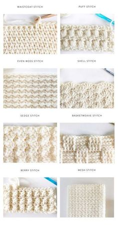 40 free crochet stitches from daisy farm crafts salvabrani crafts crochet daisy farm free salvabrani stitchesLearn how to crochet the Herringbone Half Double Crochet Stitch! A beautiful and simple stitch for baby blankets! I used this stitch to make Crochet Simple, Crochet Diy, Tunisian Crochet, Love Crochet, Crochet Crafts, Crochet Projects, Crochet Stitch Tutorial, Crochet Ideas, Learn Crochet