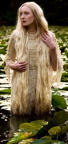 The setting, the hair, costume, everything is superb.  Ophelia ~ Hamlet