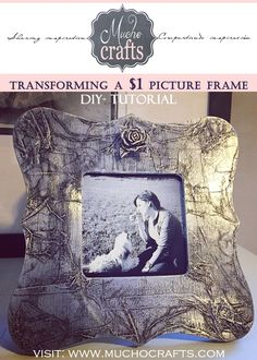 DIY - Transforming A $1 Pic Frame