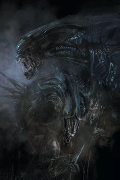 Top 10 Aliens Queens from the Alien vs. Included are the Queen Mother, Matriarch, Empress and other badass Queen Aliens Giger Art, Hr Giger, Alien Hive, Alien Queen, Punisher Marvel, Star Wars Drawings, Alien Concept Art, Aliens Movie, Cool Monsters