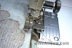 How to Stitch a Drapery Hem