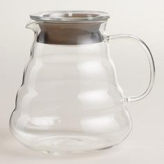 One of my favorite discoveries at WorldMarket.com: Glass Beehive Coffee Pot