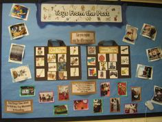 Toys From the Past Display, classroom Display, class display, History, New toys, old, past, play, children, Years (EYFS),KS1&KS2 Primary Teaching Resources