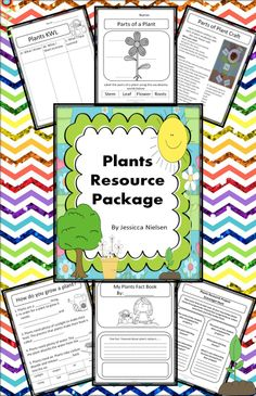 $This Plants Resource Package is full of ideas, worksheets, and activities to supplement your plants unit.   The outcomes for this unit are:  1. Students can demonstrate they know the life cycle of a plant.   2. Students can demonstrate that they know what plants need to grow.  3. Students can name all the parts of a plant.  4. Students can demonstrate their knowledge of plant related vocabulary words.