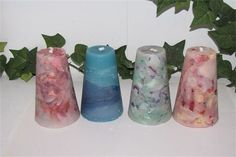 small scented cone candles